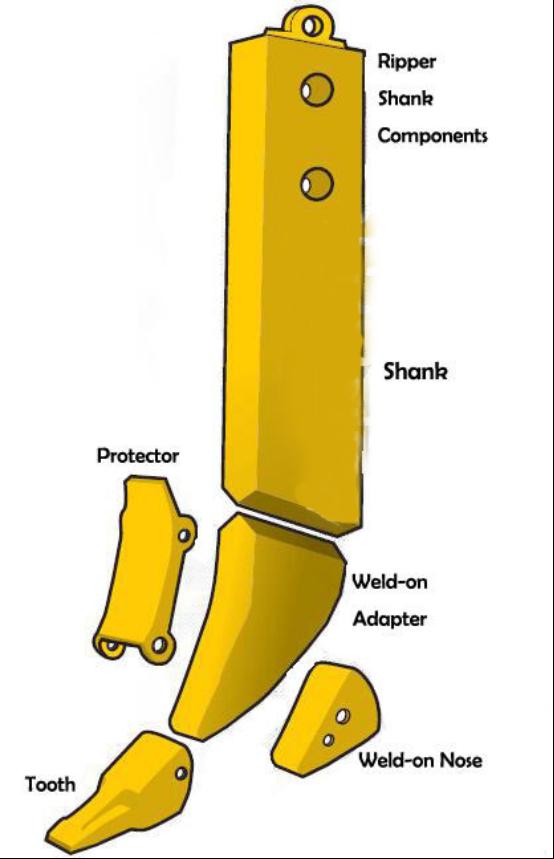 Ripper shank (3)650